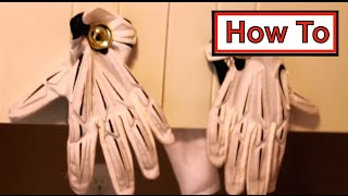 How to | Clean Football Gloves