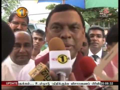 News 1st Prime time 8PM  Shakthi TV 12th May 2016