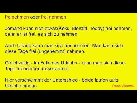 DfM 9.2 Deutsch/ Getrennt- und Zusammenschreibung/ Verb + Adjektiv