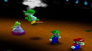 Mario Party 2 - 4 Player Minigames - Yoshi Peach Luigi Mario All Funny Minigames (Master CPU)