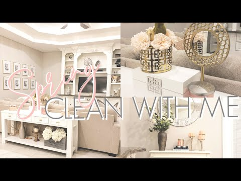 SPRING CLEAN WITH ME || ULTIMATE CLEANING MOTIVATION ||  DECORATE WITH ME