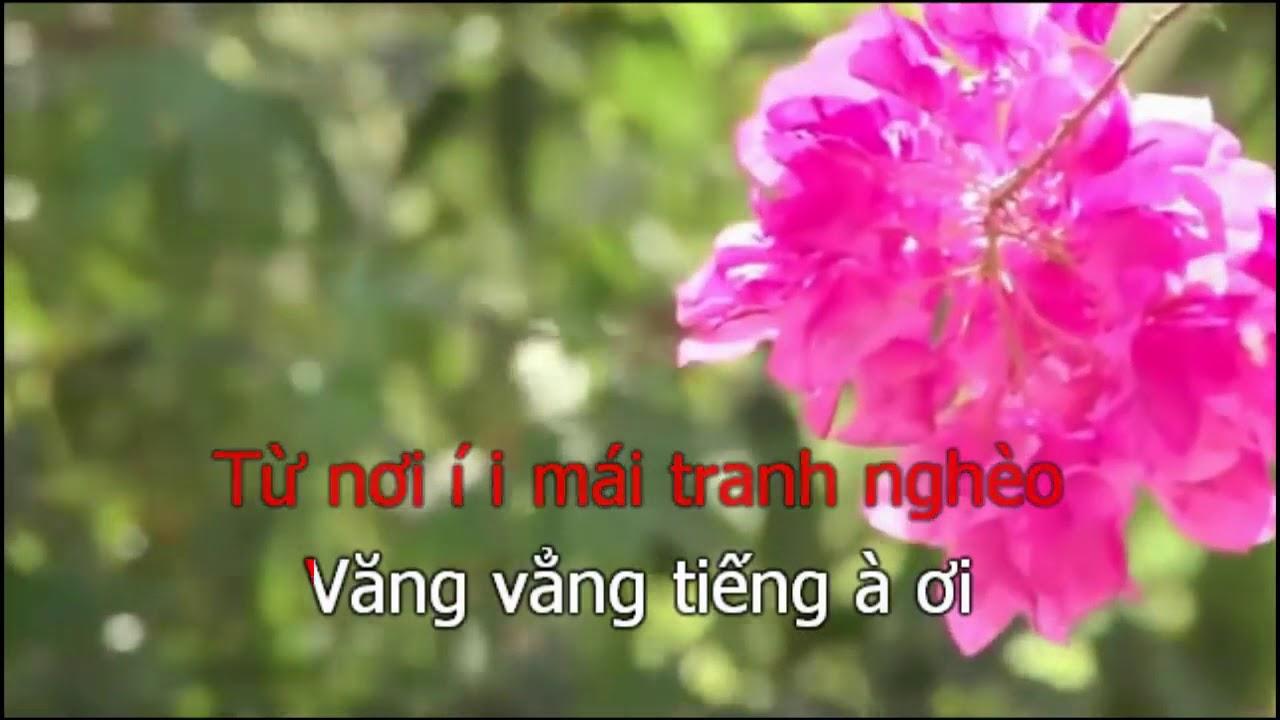 [KARAOKE HÁT CHÈO 2018] TÌNH MẸ BAO LA (SL: BÙI VĂN NHÂN)
