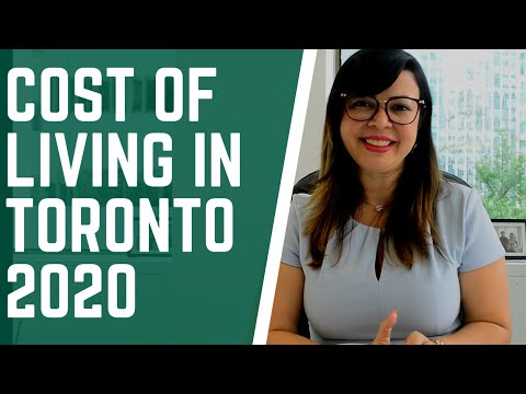 HOW MUCH DOES IT COST TO LIVE IN CANADA? | COST OF LIVING IN TORONTO 2020