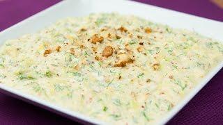 Yoğurtlu Kabak Salatası Nasıl Yapılır?