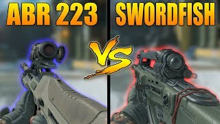 Black Ops 4: ABR 223 VS Swordfish (COD BO4 Versus)