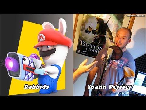 Mario + Rabbids : Kingdom Battle Characters Voice Actors