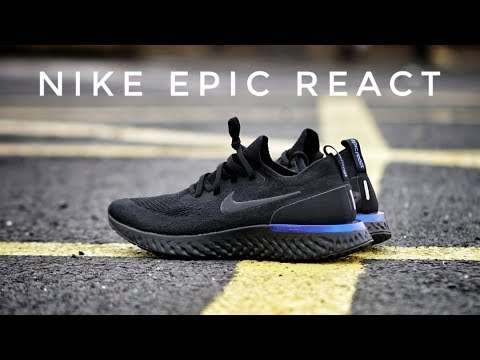 365f2b8448cb3 Nike Epic React Flyknit - On Foot   Review - RIP Boost - YouTube