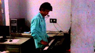 tune mere jana on keyboard and mouthorgan jitender teherpuria