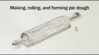 Jacques Pepin's Complete Techฑiques Desserts 02 Making, Rolling, and Forming Pie Dough