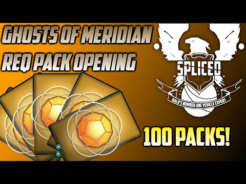 Halo 5 - Ghosts of Meridian 100 Req Pack Opening