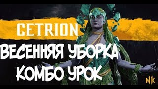 ЦЕТРИОН ВЕСЕННЯЯ УБОРКА КОМБО-УРОК MORTAL KOMBAT 11 (CETRION COMBOS)