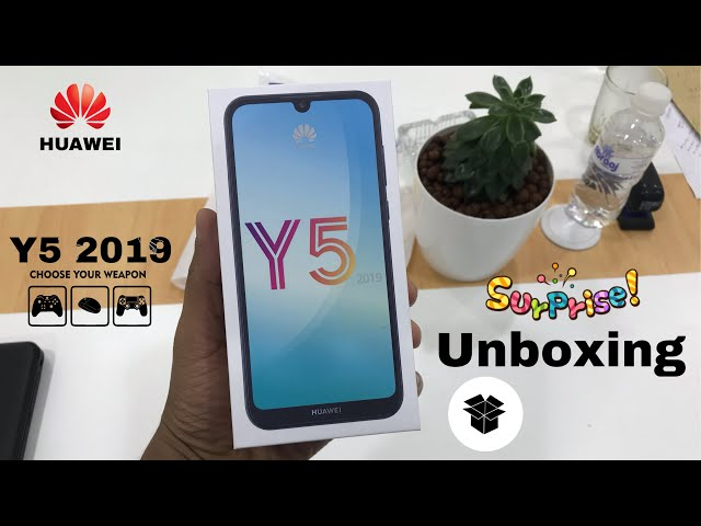 Huawei Y5 2019 Quick Unboxing