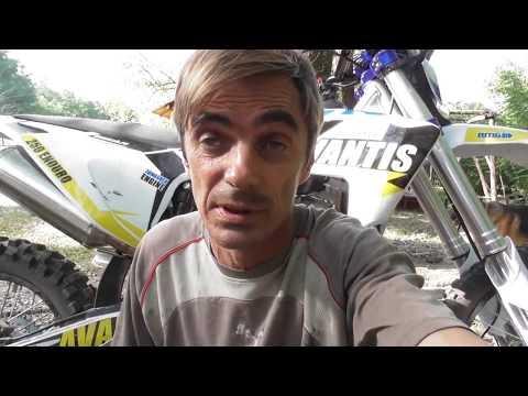Модернизация Кроссового Мотоцикла Авантис 250 1 Часть