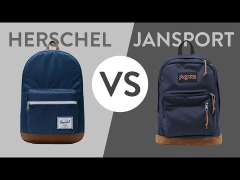 Herschel Vs JanSport - Ultimate Pop Quiz And Right Pack Comparison