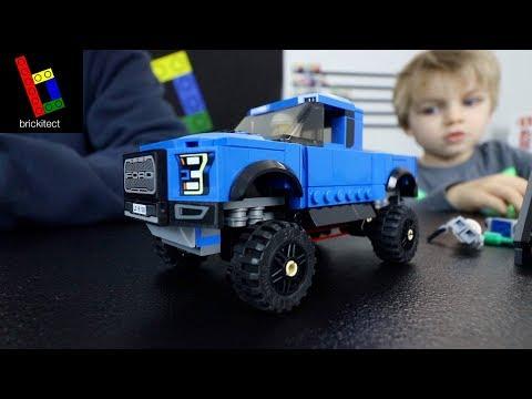 BUILDING A LEGO FORD F150 RAPTOR!