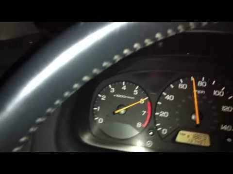 J30A1 Redlining (2000 Honda Accord Coupe V6)