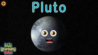 Planet Song for Kids/Solar System Songs for Children/Pluto Song for Kids