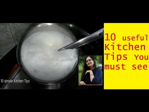 10 Useful Kitchen Tips|Kitchen Hacks|Kitchen Tips & Tricks in hindi|किचन टिप्स
