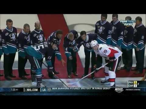 Ottawa Senators vs Anaheim Ducks NHL Tonight Analysis 10-13-13 retro night