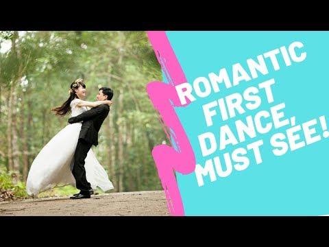 romantic-first-dance-wedding-couple---heavenly