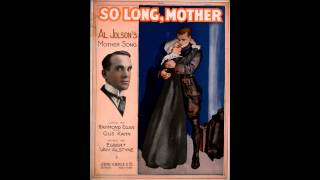 Asleep in the deep (Parody) -- Al Jolson (1911)