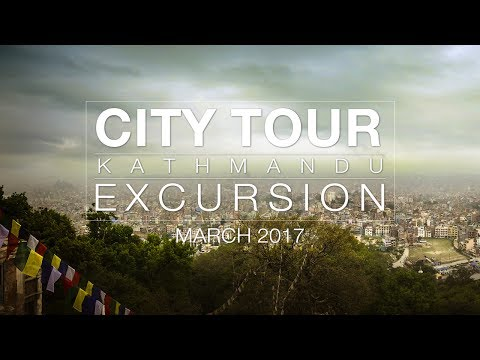 CITY TOUR KATHMANDU 2017