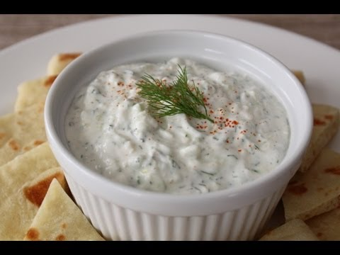 Tzatziki Sauce - How to Make Tzatziki - Greek Garlic Yogurt Sauce
