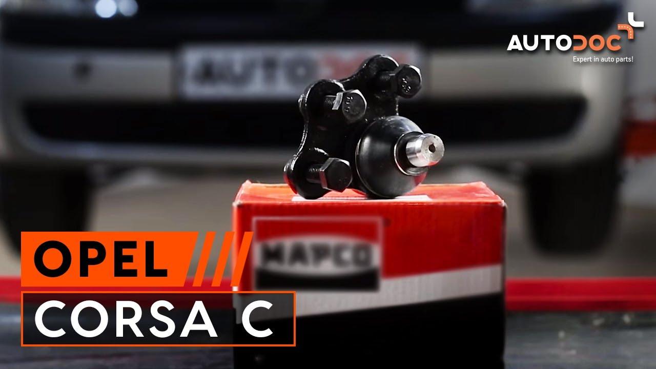 Schema Elettrico Opel Corsa C : Tutorial come sostituire rallino su opel corsa c youtube