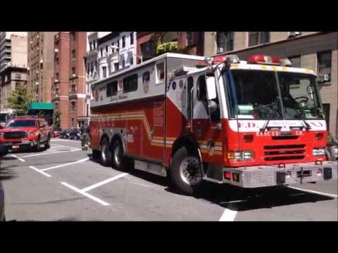 SUPER EPIC COMPILATION OF FDNY RESCUE 1 RESPONDING, CRUISING BY & TAKING UP ON THE STREETS OF NYC.