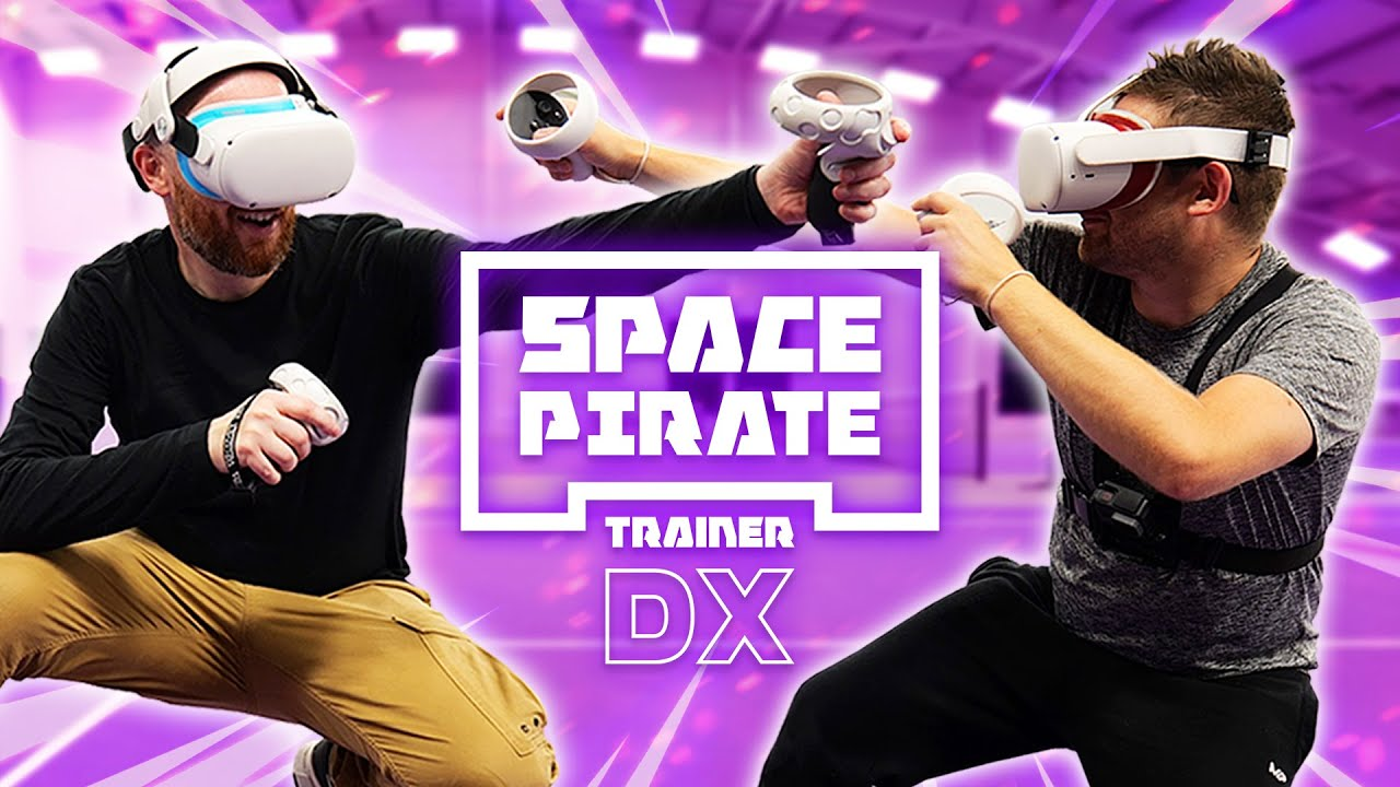 Space Pirate ARENA Is EPIC On Oculus Quest 2 - Space Pirate Trainer DX