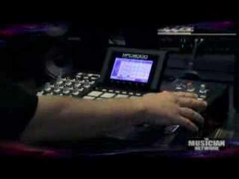 TMNtv - NAMM 2008  - AKAI MPC5000 / MPK49 / XR20