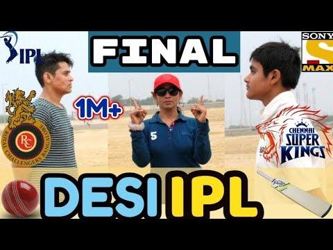 Desi IPL Final 2018 || CSK VS RCB || Best Match Ever || Round2Hell || Harsh Beniwal || EDD || VIVO