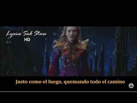 Download Pink  - Just like Fire Lyrics Sub Español From Alice Through the Looking Glass