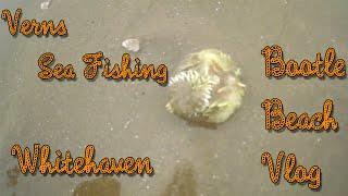 VERNS SEA FISHING | BOOTLE BEACH CUMBRIA | VLOG