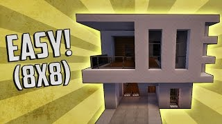 Minecraft: How To Build A Small Modern House Tutorial (Quick & Easy!)