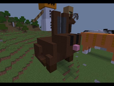 tuto minecraft statue du lapin youtube. Black Bedroom Furniture Sets. Home Design Ideas