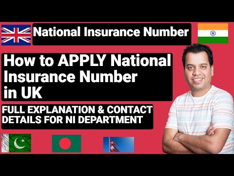 How To APPLY National Insurance  Number In  UK | How To Get National Insurance Number  In UK