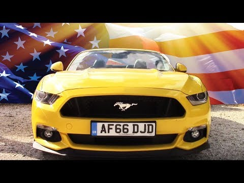 Ford Mustang 5.0 Review on British Roads: The American Dream (Sort of) - Ben and Jon Do Cars