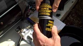 Small Engine Repair: Change the oil and oil filter on a 17KW Generac Generator