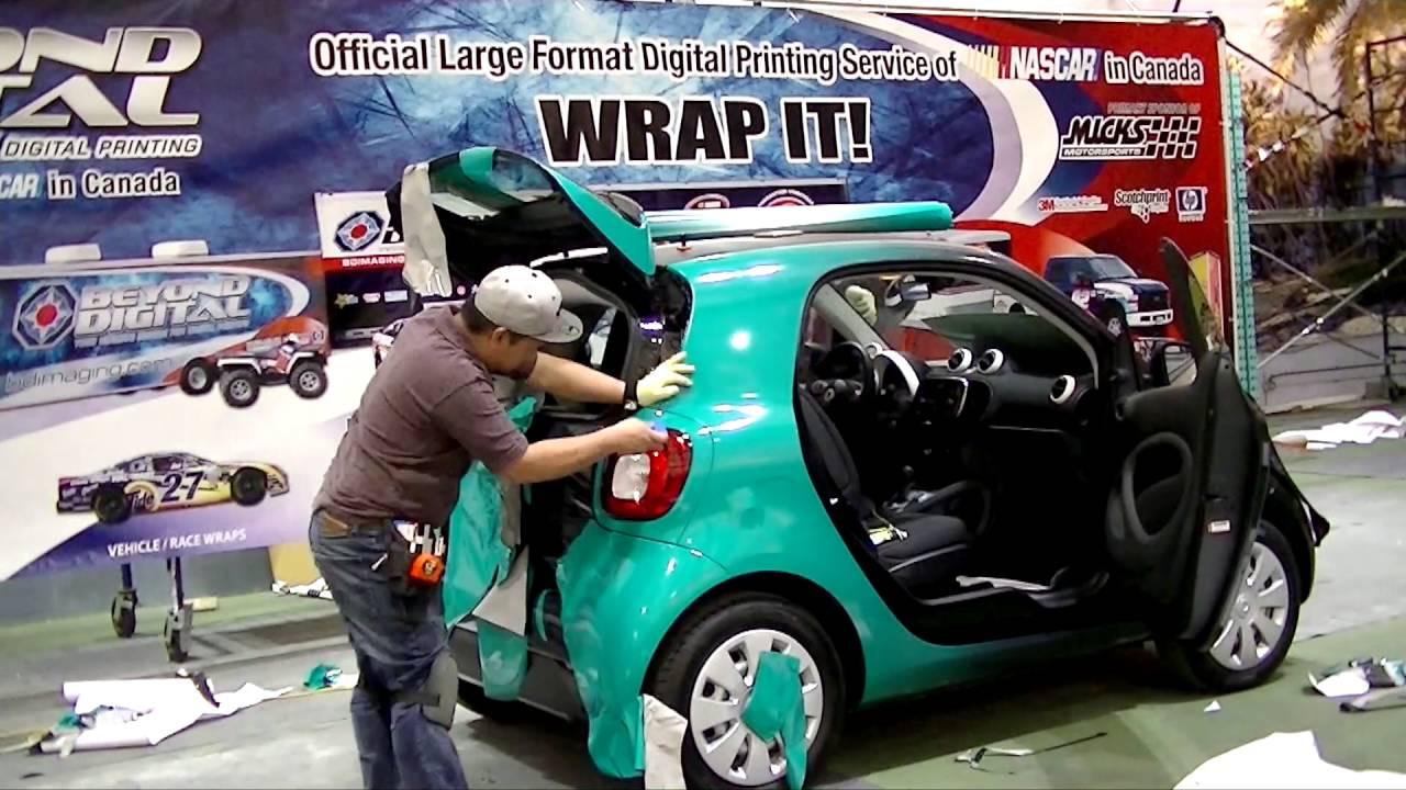 Exit Smart Car Wrap 2016 Youtube