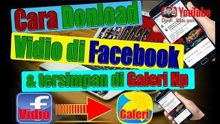 Cara Donload Vidio di Facebook Dgn Hp android