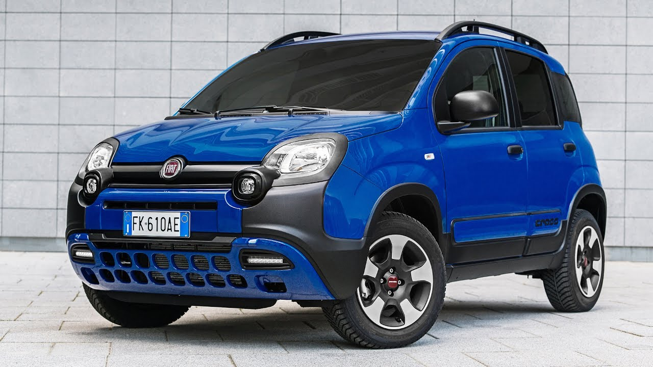 2017 fiat panda city cross 4x2 youtube. Black Bedroom Furniture Sets. Home Design Ideas