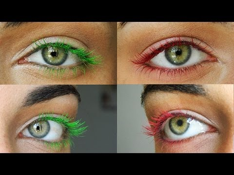 DIY Colored Mascara | MakeupAndArtFreak