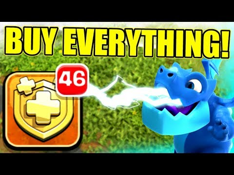 RESURRECTING BABY TONY!! EPIC GEM SPREE IN Clash Of Clans!