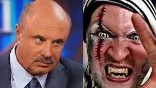 Dr Phil Crushes the Dreams of Murder Rapper ICP Fan - React Couch