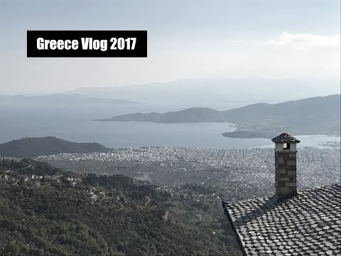 GREECE TRAVEL VLOG 2017