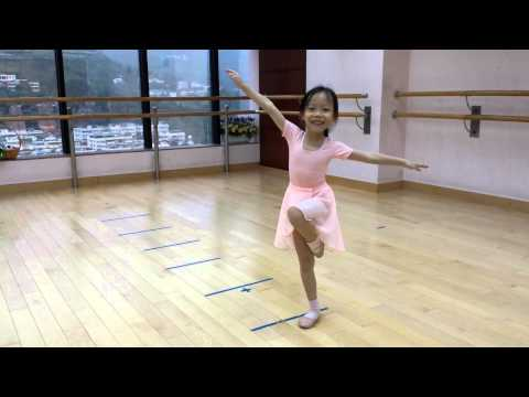 Ballet-RAD-Pre-primary in Dance-run and balance