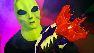 NERF Alien Challenge!