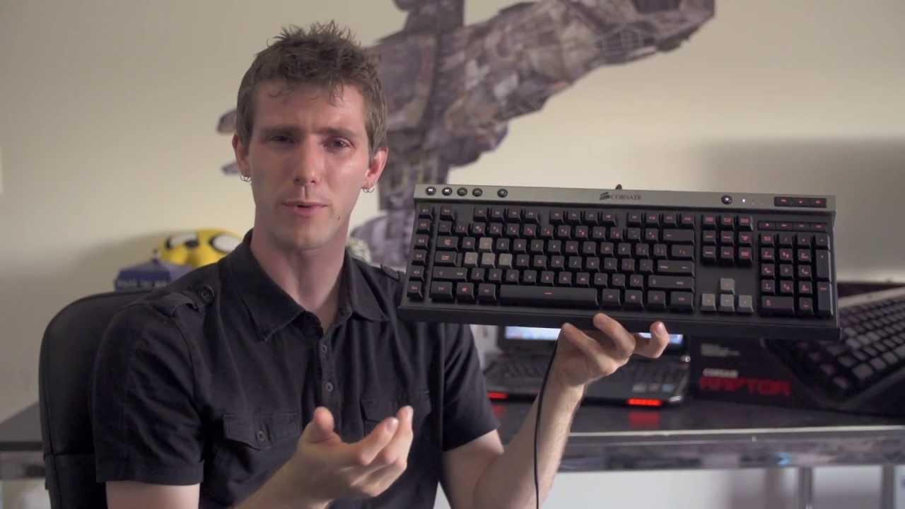 Linus Tech Quickie: Corsair Raptor K30 Gaming Keyboard