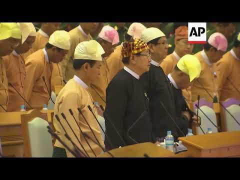 Voting underway to elect new president of Myanmar